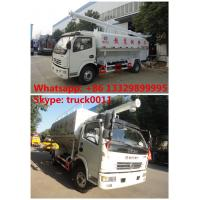 Quality China best price 6tons hydraulic discharging poultry feed truck for sale, 5-7tons farm-oriented and livestock feed truck for sale