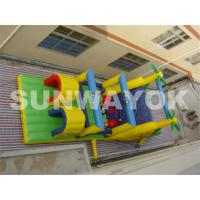 Commercial Inflatable Obstacle Course For Kids , Bouncy Obstacle Course Hire Manufactures