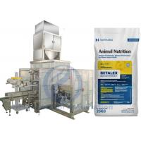 Animal Nutrition Big Bag Packing Machine Siemens PLC Control System Manufactures