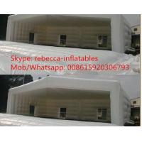 Quality 0.55mm PVC Large Trade Show Exhibition Inflatable Tent For Advertising for sale