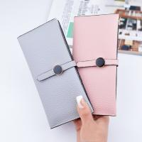 Female Foldable Leather Clutch Wallet Large Capacity For Money Coin Card Holders Manufactures
