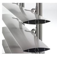 Aluminum Blinds Extrusion Profiles / Aluminum Extrusion Vertical Wind Turbine Blades Manufactures