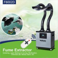 Table Top 200w 3 Layers Xs350-2 Solder Fume Extractor Black And Grey Color Manufactures