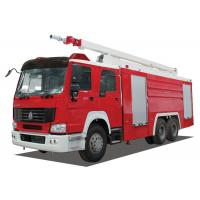 Inter Cooling Engine Fire Rescue Vehicles With TBD035181 Long Row Alarm Lamp Manufactures