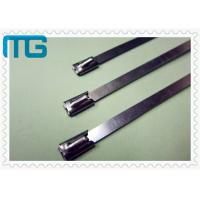 Nature Color Cable Accessories Self Locking Stainless Steel Cable Ties Free Samples Manufactures