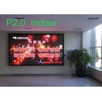 P2 Indoor HD Full Color HD LED Display  for Advertising Video Displaying 240*240mm Manufactures