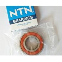 P6 High Precision Deep Groove Ball Bearing NTN 6205LLU 25 * 52 * 15mm For Reduction Gears Manufactures