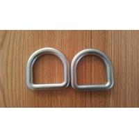 High Strength Safety D Rings Zinc Plated Buckle D Rings With Hot Forged Manufactures