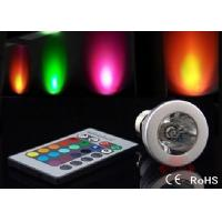 E27 Colour Changing Led Lights 3W Remote Control Led Light ATF-RGB3WE27 Manufactures