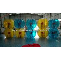 Colorful TPU Inflatable Bubble Ball Toy , Outdoor Sports Human Bumper Ball Manufactures