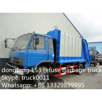 Quality hot sale good price dongfeng 6*4 18cbm garbage compactor truck, factory best price dongfeng 16m3 compacted garbage truck for sale