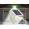 Portable LED Solar Motion Light , Motion Activated Solar Flood Light Li Ion Battery 3.2V 1200mAH Manufactures