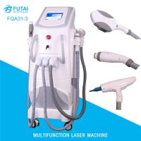 FQA31-3 4in1 OPT e-light ipl rf nd yag laser hair removal multi functional beauty machine Manufactures