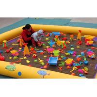 Promotion Inflatable Family Pool Inflatable Swimming / Sand Pools For Children Manufactures