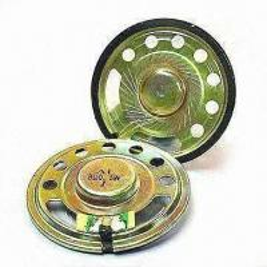 8Ω Mylar Speakers with 0.5W Maximum Input Power, Suitable for Telecommunication Manufactures