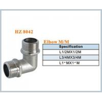 brass plumbing fitting elbow MM Manufactures