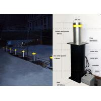 Hydraulic Automatic Rising Bollards Solutions , Resistance Traffic Security Bollard Manufactures
