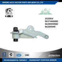 Quality Auto crank position sensor 1920AV 9637466080 9639999980 96399999 for sale