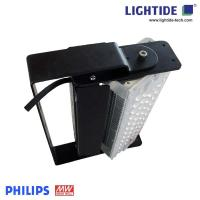 Outdoor IP67 Directional LED Tunnel Light Fixture 120W LED & Meanwell with 160 LM/W Manufactures