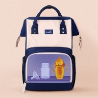 Multi Function LED UV Disinfection Diaper Bag For Mother Manufactures