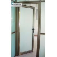 6082 T5 / T6  Aluminum Door Frames Champagne Anodized With finished Machining Manufactures
