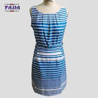 Fashion white and blue sexy clothing clothes ladies dress for women Manufactures