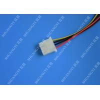 Quality 5.08mm Braided Molex 4 Pin SATA Power Cable 15 Pin Male To Male For Hard Disk for sale