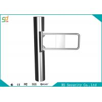 Fully Automatic Supermarket Swing Gate Auto Recognition Turnstiles Barrier Manufactures