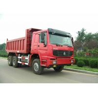 Buy cheap 6x6 Full Drive Heavy Duty Dump Truck 336HP Sinotruk Howo Truck 20 CBM Loading from wholesalers