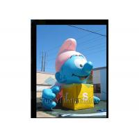 Air Sealed Giant Advertising Balloons Inflatable Smurfs Replica Balloon Manufactures
