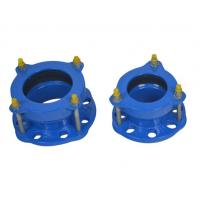 Epoxy Powder Coating Of 150-200 Microns Flexible Hdpe Pipe Coupling Ductile Iron Flange Adaptor Manufactures