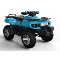Blue 0ff Road 4x4 Utility ATV 400CC Luxury Seat , CDI For Beach Manufactures