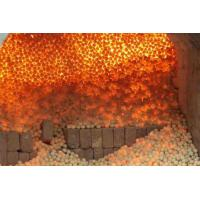 China High Strength Refractory Balls 40mm , 50mm , 60mm , 70mm White Kaolin Clay on sale