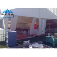 300 Seater Canopy Shade Tent Durable Frame With Wooden Flooring System Manufactures