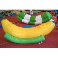 Quality 0.9mm PVC Tarpaulin Inflatable Water Toys Water Seesaw Red Outdoor for sale