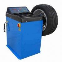 Semi-automatic Wheel Balancer with Protection Hood Manufactures