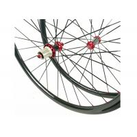 Quality 30MM*25MM Carbon Road Wheels Dimple Brake Surface 700C Tubuless / Clincher for sale