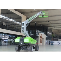 Buy cheap Working height 16m diesel engine boom lift with outreach 18m for building from wholesalers