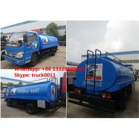 Quality Hot sale cheap right hand drive Forland 6-wheel 6000L Fresh milk transport truck for sale