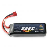 Quality 14.8V 2200mAh 50C LiPo Battery for RC models for sale