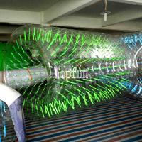 Commercial Grade Clear Inflatable Water Walking Roller For Summer Water Game Parks Manufactures