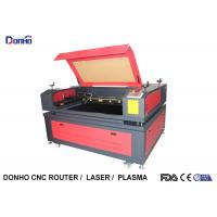 Industrial CO2 Laser Engraving Cutting Machine , CO2 Laser Engraver 130W-150W Manufactures