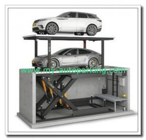 Auto Parking Lift Manufacturers/Parking Lift System Suppliers/2 Floor Puzzle Garage Elevator Car Parking System