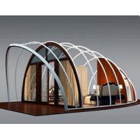 Buy cheap 2019 Popular Five Star Luxury Hotel Shell Tents Q235 Steel Frame Material Resort from wholesalers