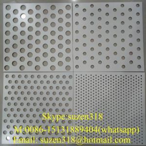 aluminium perforated facade panel  / aluminum perforated ceiling panel Manufactures