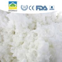 Bleached 100% Cotton Raw Material , First Aid Organic Cotton Material Manufactures