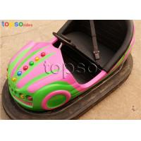 48V  Electric Bumper Cars  Flooring Grid Spinning Bumper Cars Front Wheel Transmission Manufactures