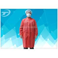 Disposable Lab Medical Protective Clothing SBPP Fabric CE Certificated Manufactures