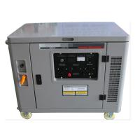 China Small silent air cooled 7500w portable gasoline generator mobile genset engine single phase on sale