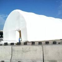 White PVC Tarpaulin Inflatable Event Tent , Fireproof Inflatable Outdoor Tent Manufactures